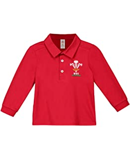 Toddler Large Crest T-Shirt6 Nations2017//18 Season Wales WRU Rugby Baby