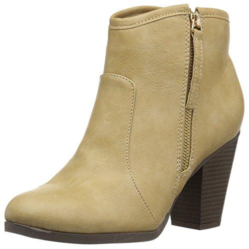 Brinley Co Women's Zelda Ankle Boot Tan