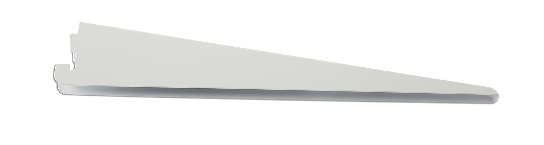"Rubbermaid FG4C0502WHT Twin Track System Bracket, 11.5"", White"