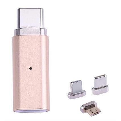 LEVEL GREAT 3 en 1 USB Micro al Tipo C / 8 Pin/Micro ...