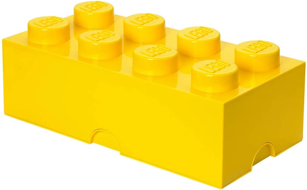 8 x Grandes Portes avec cadres Rouge//Jaune//Blanc Lego