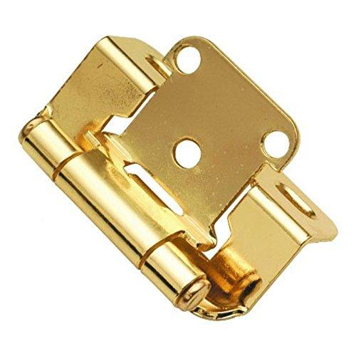 Polished Brass Finish Cabinet - 9