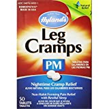 Hyland's Leg Cramps PM With Quinine Tablets 50 ea ( Pack of 4)