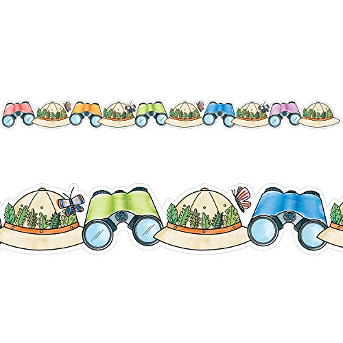 Creative Teaching Press Friends Safari Fun Border, Ctp 8341 with