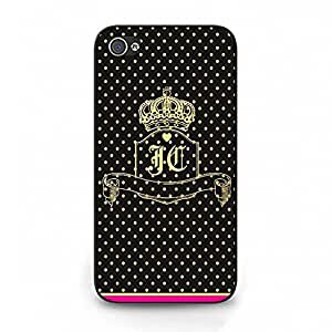 Stylish Juicy Couture Phone Case Cover For Iphone 4/4S Juicy Couture Design