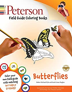 Peterson Field Guide Coloring Books Butterflies Color In
