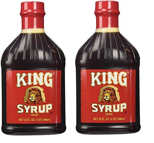 King Syrup Golden 32oz (32oz 2 - Cans Ounce 32
