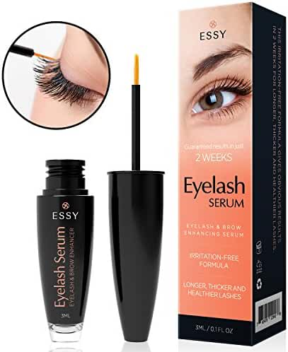 Essy Beauty natural Eyelash Growth Enhancer & Brow Serum for Long, Luscious Lashes and Eyebrows (3 ml)