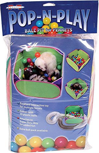 (MARSHALL PET PRODUCTS Pop-N-Play Ball Pit Green)