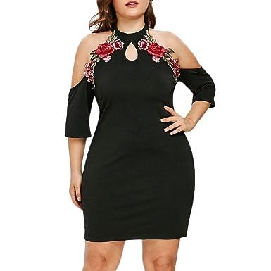 38f5fb6490b Amazon.com  2019 New Women s Plus Size Dress