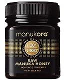 Manukora UMF 20+/MGO 830+ Raw M?nuka Honey (250g/8.8oz) Authentic Non-GMO New Zealand Honey, UMF & MGO Certified, Traceable from Hive to Hand