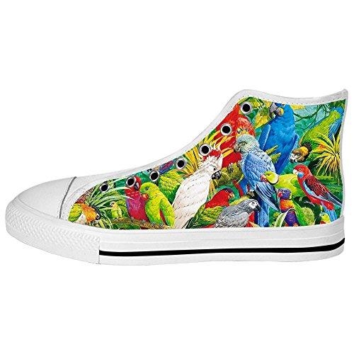 Canvas Scarpe Tetto Delle Ginnastica I Uccello Alto Custom E Da Foresta Women's Shoes Lacci z6wIg8