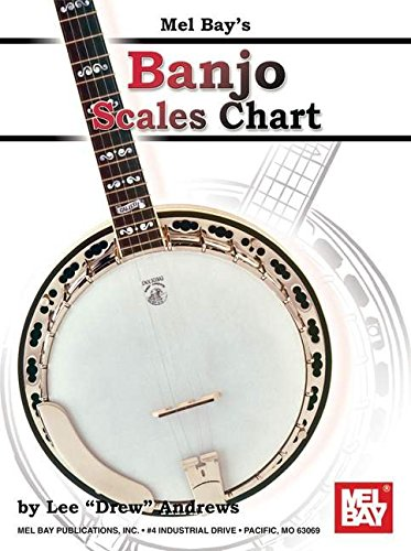 Banjo Scales Chart Paperback – Folded Map, Jun 6 2011 Lee Drew Andrews Mel Bay Publications Inc. 0786679131