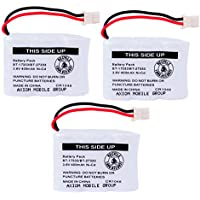 Axiom 3-Pack Ni-Cd Rechargeable Battery For Vtech BT-17333 BT-27333 CS2111