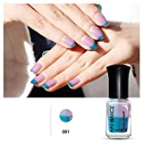 Thermal Nail Polish, Kingfansion Peel Off Temperature Sunlight - Best Reviews Guide