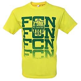 T-shirt FC NANTES - Collection officielle Football Club Nantes Atlantique FCNA - Ligue 1 - Taille adulte homme