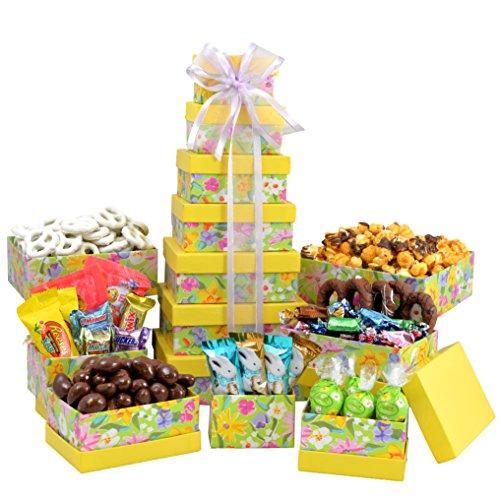 Broadway Basketeers Easter Gift Basket Gourmet Chocolate Easter Treasures Gift