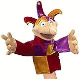 Folkmanis Puppets Yorick Jester Character Puppet