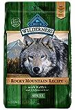 Blue Buffalo 596199 Wilderness Rocky Mountain Recipe Grain Free Adult Dog Food, 22 Lb