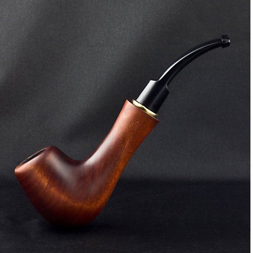 6.5'' Carved wooden smoking pipe . Best smoking pipes. WORLDWIDE shipping.