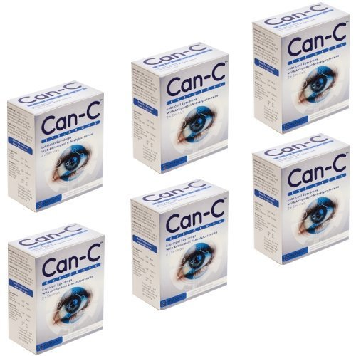 Can-C Eye Drops 6 Boxes Five Month Supply by Can-C by Can-C