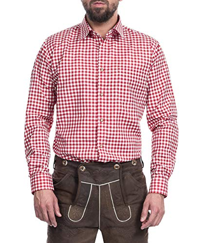 Tracht & Pracht - Herren Trachtenhemd Hemd Karo