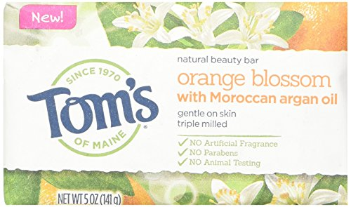 Toms Of Maine Natural Orange Blossom Beauty Bar, 5 Ounce - 6 per case. (Shopping-maine)
