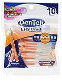 Dentek Easy Brush 10-count, Mint (Pack of 6)