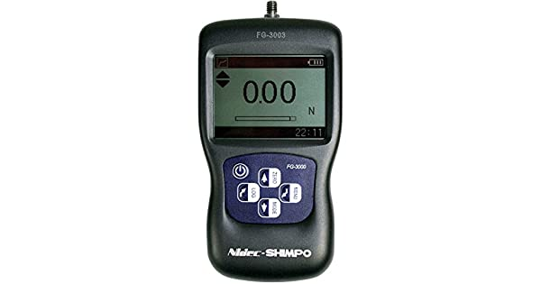 Amazon.com: shimpo fg-3009 Force Gauge Digital Compacta ...