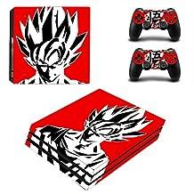 Dragon Ball z Goku Skin For Sony PS4 Pro Vinyl Sticker Cover