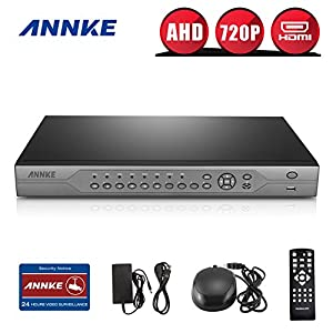 Annke AHD-720P 32-Channel High Resolution Recording Surveillance Standalone DVR Recorder, P2P Technology, QR Code Scan Remote Access, NO HDD by ANNKE