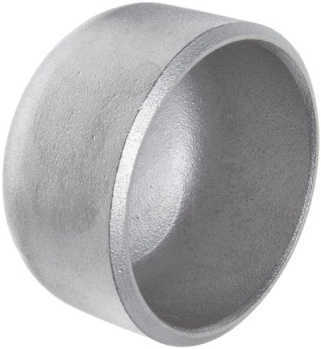Stainless Steel 304/304L Pipe Fitting, Cap, Butt-Weld, Schedule 10, 3