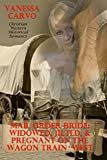 Mail Order Bride: Widowed, Jilted, & Pregnant On The Wagon Train West: (Christian Western Historical Romance)