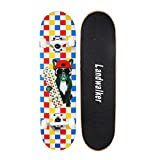 Landwalker Pro Cruiser Complete Girl Skateboard 31x8 Inch Skateboards cheap skateboard(dog)