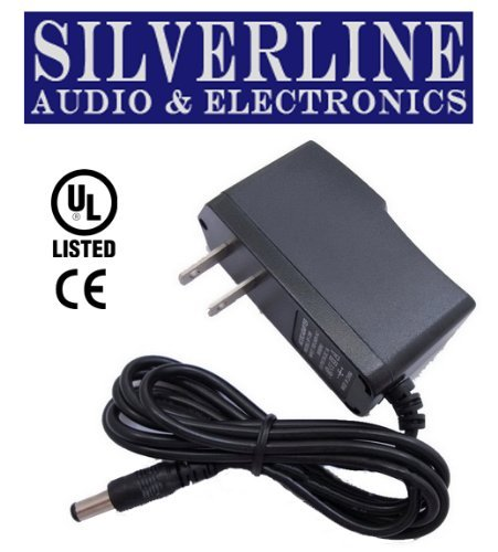 Silverline Replacement Power Supply/AC Adapter for DigiTech Pedal Products: DigiDelay, DigiVerb, DL-8 Delay/Looper, RV-7 Stereo Reverb & Hyper Phaser (Aftermarket)91