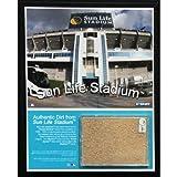 MLB Florida Marlins Sun Life Field 8x10 Dirt Plaque