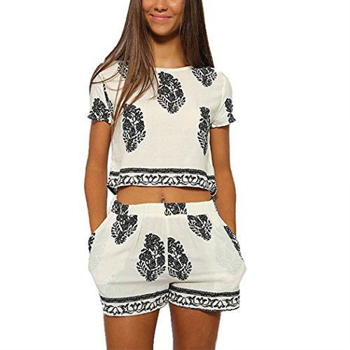 finejo-vintage-style-women-2-pcs-leaf-pattern-bohemian-crop-tops-shorts-set