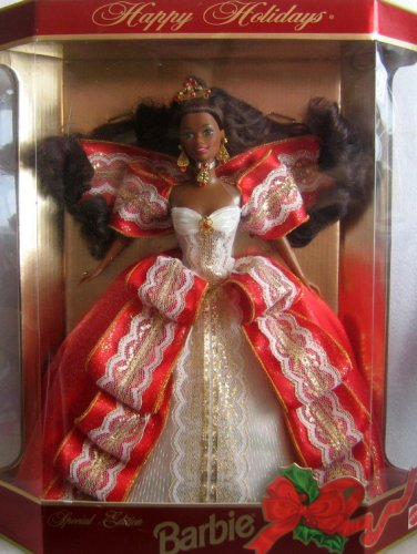 10th anniversary happy holidays special edition barbie