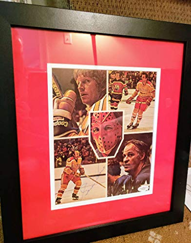 GORDIE HOWE JSA Coa Autograph Framed 8x10 Photo Hand Signed Authentic
