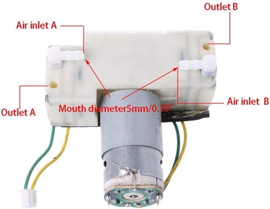 HNIWDJ DC 12V-15V Micro Pumps Negative Pressure Suction Diaphragm Double Head Vacuum Pump Voltage : DC 12 15V