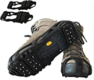 Limm Crampons Ice Traction Cleats - Microspikes Grips Quickly & Easily Over Footwear for Snow and Ice Walk