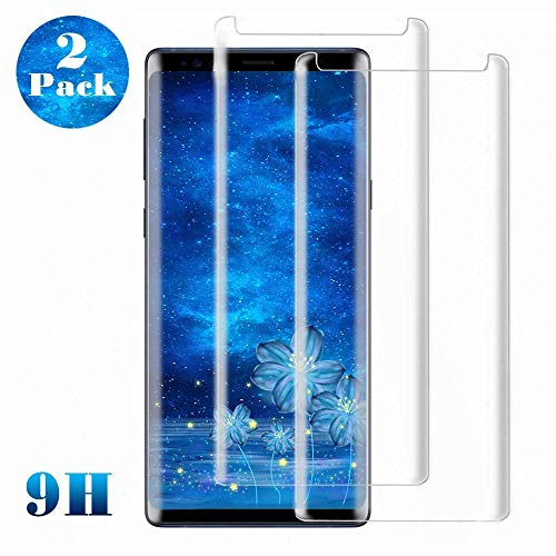 Galaxy S8 Plus Screen Protector, (2-Pack) Tempered Glass Screen Protector [Bubble Free][Full Screen Coverage][Case Friendly] for Samsung S8 Plus (Galaxy S8 Plus Tempered Glass Screen Protector)