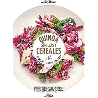 Quinoa, semillas y cereales book jacket