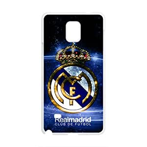Realmadrid Fashion Comstom Plastic case cover For Samsung Galaxy Note4