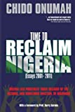 img - for Time to Reclaim Nigeria book / textbook / text book