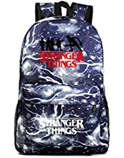 Stranger Things Backpack, Student School Book Bag Laptop Backpack Casual Traveling Daypack Bookbag for Boy Kid Girl (3)