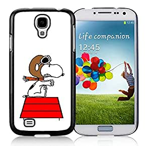 Hot Sale Samsung Galaxy S4 I9500 Case ,Popular And Unique Designed With snoopy (2) Black Samsung Galaxy S4 I9500 High Quality Cover