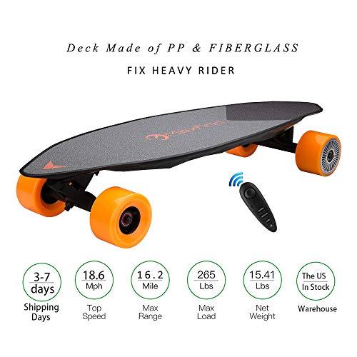 "Maxfind Electric Skateboard Longboard 31"" 16.2 Miles Hub-Mot"