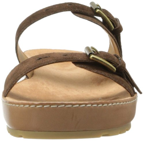 West Nine Donna Sandali Suede Brown vpqqAXw8d