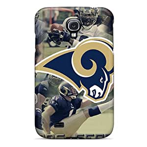 Awesome St. Louis Rams Flip Case With Fashion Design For Galaxy S4